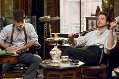 Film Sherlock Holmes – Jude Law, Robert Downey Jr.
