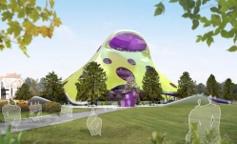Návrh nové budovy Národní knihovny od Jana Kaplického